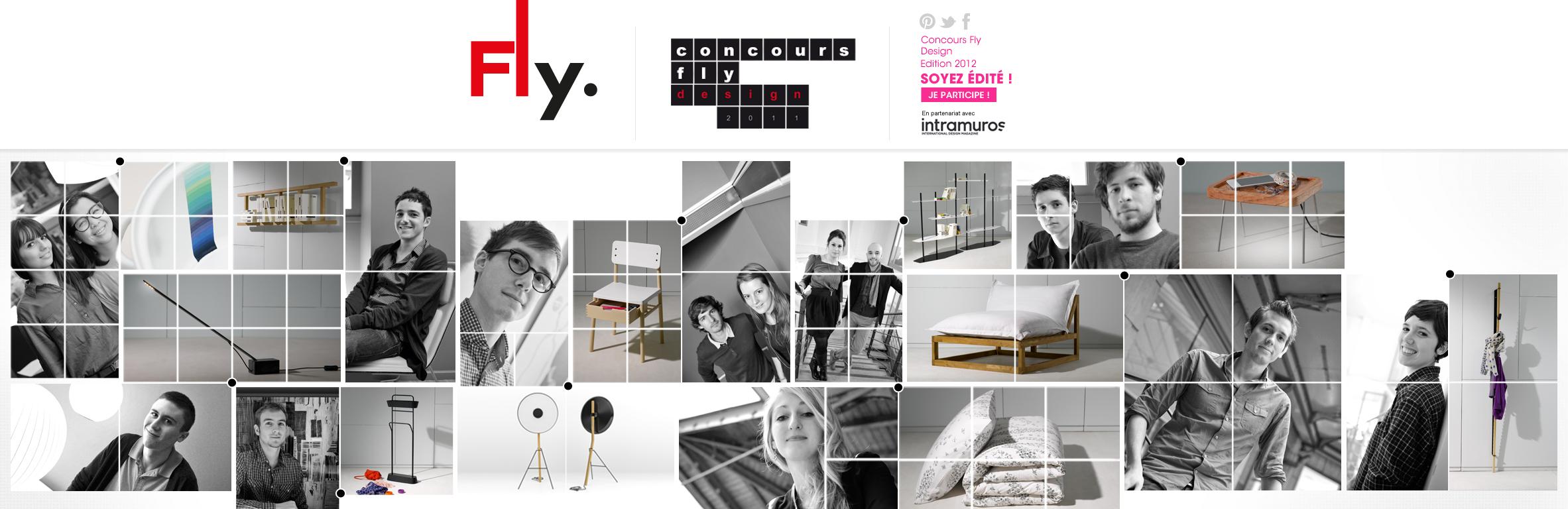 Directrice artistique web pour Fly de 2010 à 2013 - Fly-Jeux-concours
